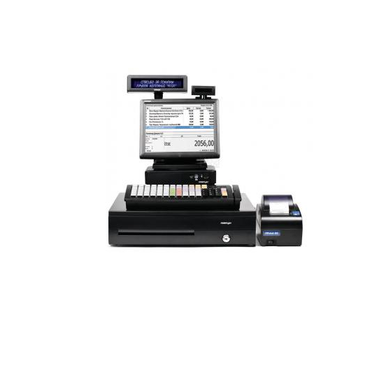 "POS-комплект 10"" TX-2100 черный, LM-3110, PD-2800, CR-4000, KB-6600 MSR, Windows POSReady 7"